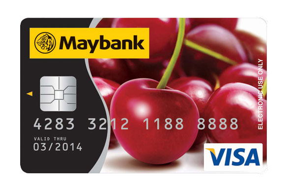 Maybank Visa Debit Card
