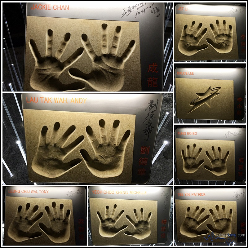 Stars handprints have been relocated to Tsim Sha Tsui East Waterfront Podium Garden which is now the temporary Garden of Stars.